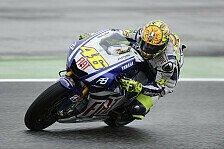 MotoGP - Rossi im Warm-up nicht zu schlagen