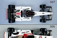 Formel 1 - Bilderserie: Der 006 & 007 im Vergleich
