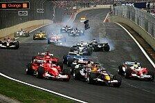 Formel 1 - Brasilien: Das Drei-Runden-Rennen