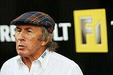 Formel 1 - Sir Jackie Stewart in Krankenhaus eingeliefert