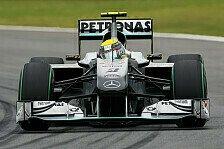 Formel 1 - Rosberg: Performance abhängig von F-Kanal