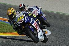 MotoGP - Lorenzo freut sich auf Rossi als starken Gegner