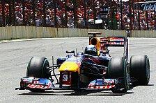 Formel 1 - 1. Training - Vettel dominiert Auftakt