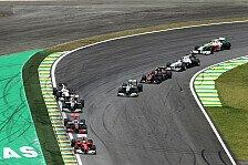 Formel 1 - Bilder: Brasilien GP - Rennen