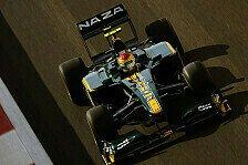 Formel 1 - Lotus mit gutem Einstand in Abu Dhabi