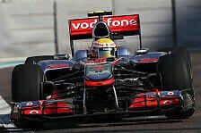 Formel 1 - 2. Training - Hamilton übernimmt die Spitze