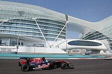 Formel 1 - Toro Rosso zuversichtlich nach Trainingsauftakt