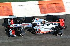 Formel 1 - Button kämpfte mit der Balance