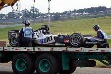 Formel 1 - Kubica erster F1-Pole bei Minardi?