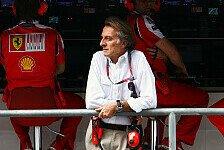 Formel 1 - Montezemolo von seinen Fahrern begeistert