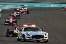 Formel 1 - FIA passt Safety-Car-Regelungen an