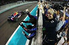 Formel 1 - Red Bull mit guten Erinnerungen nach Abu Dhabi