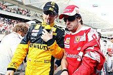 Formel 1 - Kubica: Alonso und ich tolles Ferrari-Duo