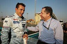 Formel 1 - Klien arbeitet in Williams-Simulator