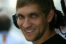 Formel 1 - Petrov absolviert erste Ausfahrt mit R31