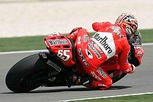 MotoGP - Qualifying: Pole-Hattrick für Capirossi