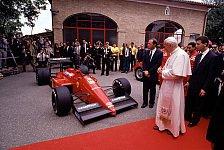 Formel 1 - Bilder: Ferrari zur Audienz beim Papst (1988 & 2005)