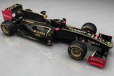 Formel 1 - Lotus Renault zeigt endgültige Lackierung
