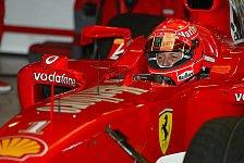 Formel 1 - Testing Time, Tag 1: Schumacher deklassiert die Konkurrenz
