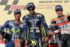 MotoGP - Katar GP: Rossi verhindert den roten Hattrick