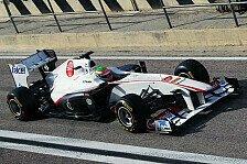 Formel 1 - Perez rast auf Platz zwei