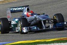 Formel 1 - Tag 2: Schumacher fährt Bestzeit in Jerez