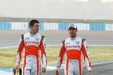 Formel 1 - Davidson erwartet internen Kampf bei Force India