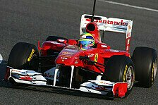 Formel 1 - Tag 1: Massa mit Bestzeit in Jerez