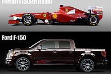 Formel 1 - Ford lässt Klage gegen Ferrari fallen