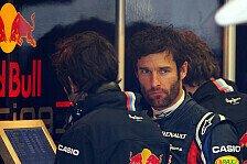Formel 1 - Webber ist gegen künstliche Regenrennen