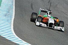 Formel 1 - Sutil kämpft mit mittelharten Reifen