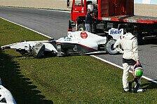 Formel 1 - Perez entschuldigte sich für Abflug