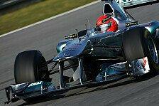Formel 1 - Schumacher: Wir müssen weiter pushen