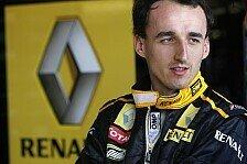 Formel 1 - Kubica soll Reha in Italien absolvieren