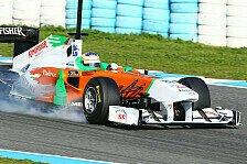 Formel 1 - Di Resta hadert mit den Bremsen