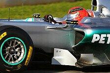 Formel 1 - Schumacher: Fortschritte gegenüber Valencia