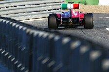 Formel 1 - Rigon absolviert Straight-Line-Test