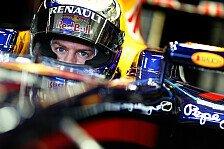 Formel 1 - Vettel bekundet seine Ferrari-Zuneigung