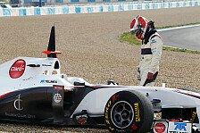 Formel 1 - Kobayashis abwechslungsreicher Jerez-Tag