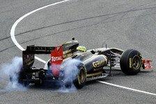 Formel 1 - Petrov zieht über Renault her