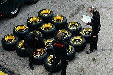 Formel 1 - Pirelli bringt harte Reifen zu ersten Rennen