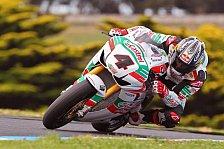 Superbike - Tests für Castrol Honda