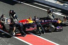 Formel 1 - Frust trotz Bestzeit bei Red Bull