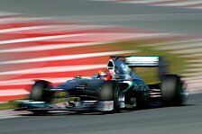 Formel 1 - Schumacher trotz schlechter Zeit zufrieden
