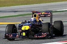 Formel 1 - Vettel bei Barcelona-Auftakt voran