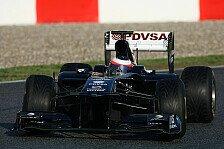 Formel 1 - Williams beklagt problemreichen Tag