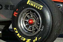 Formel 1 - Noch viele Fragezeichen bei Pirelli