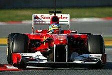 Formel 1 - Alonso trotz Problemen zufrieden