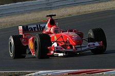 Formel 1 - Michael Schumacher sieht den F2004 als stark genug an