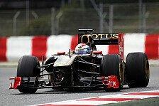 Formel 1 - Heidfeld wieder schneller als Petrov